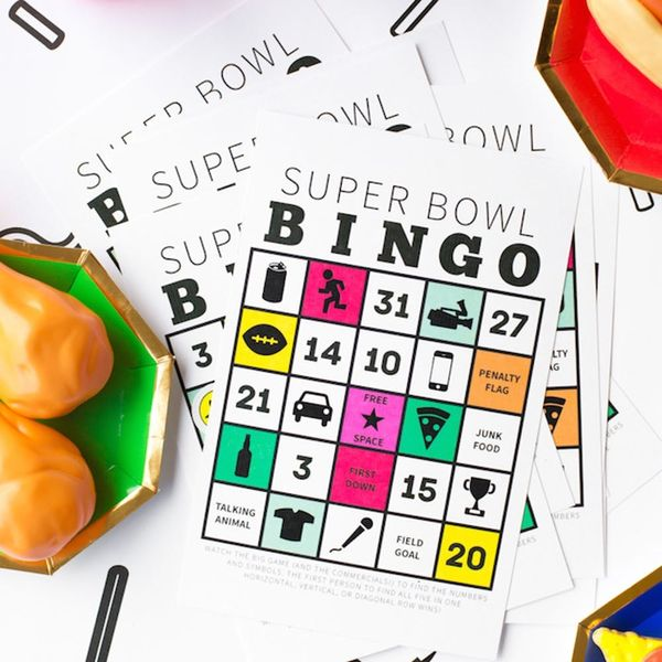 What to Make This Weekend: Super Bowl Bingo, Heartthrob Cookies + More