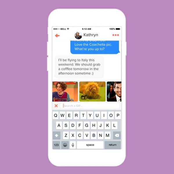 Uh-Oh: You Can Now Send GIFs on Tinder