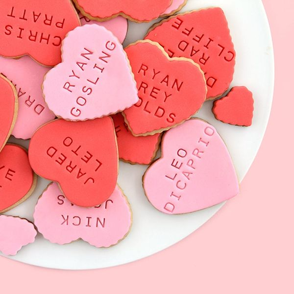 How to Make Celebrity Heartthrob Valentine's Day Cookies