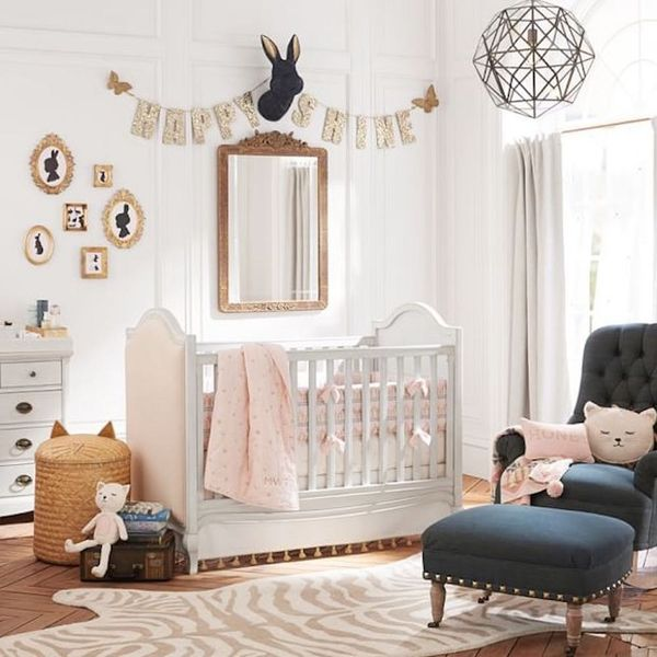 Pottery Barn's First Nursery Collection Is Seriously Chic