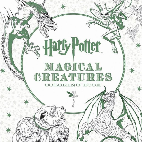 All the New Harry Potter Coloring Books You Need in Your Life ASAP