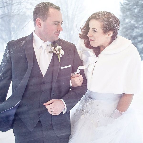 How These Two Couples Turned Last Weekend's Blizzard Into Epic Wedding + Engagement Shoots