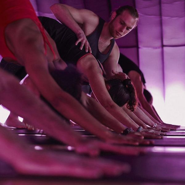 The British Have Figured Out a Way to Do Hot Yoga in a Bouncy House