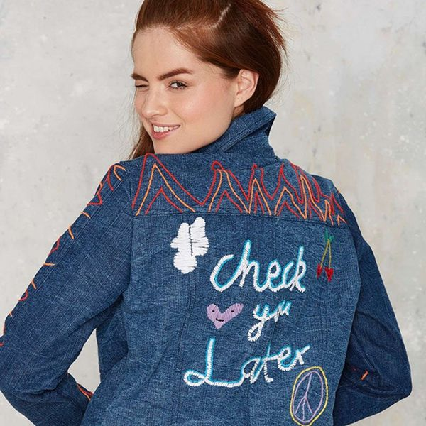 12 Clothes That Prove Embroidery Is the Coolest DIY-Inspired Trend