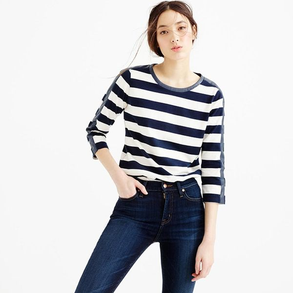 8 Fresh Ways to Wear Your French Girl Stripes and Jeans