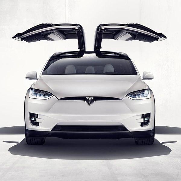 Dream Car Alert: Tesla's New Model X SUV Is 100 Percent Vegan