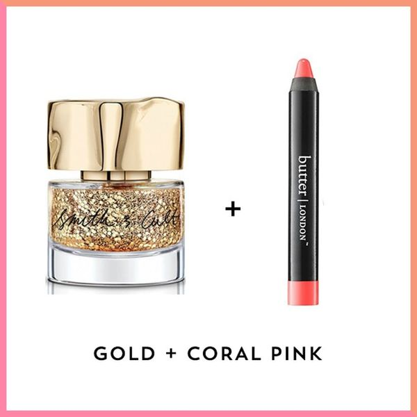 8 Unexpected Lipstick + Nail Polish Color Combos to Wear on Valentine's Day