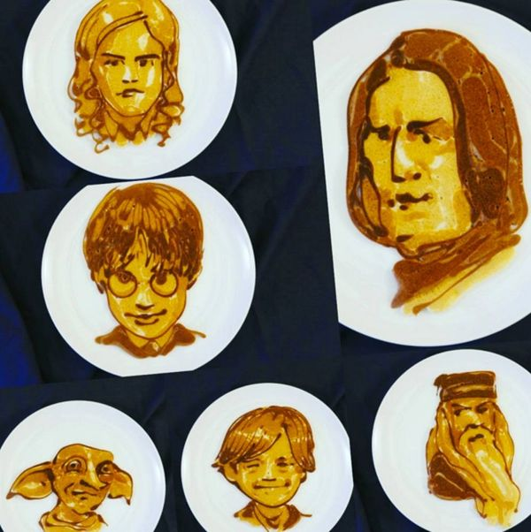 This Guy Makes Insane Celebrity Portraits With Pancake Batter