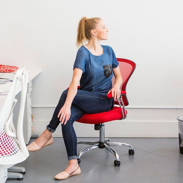 Deskercise: 9 Easy Stretches You Can Do at Your Desk