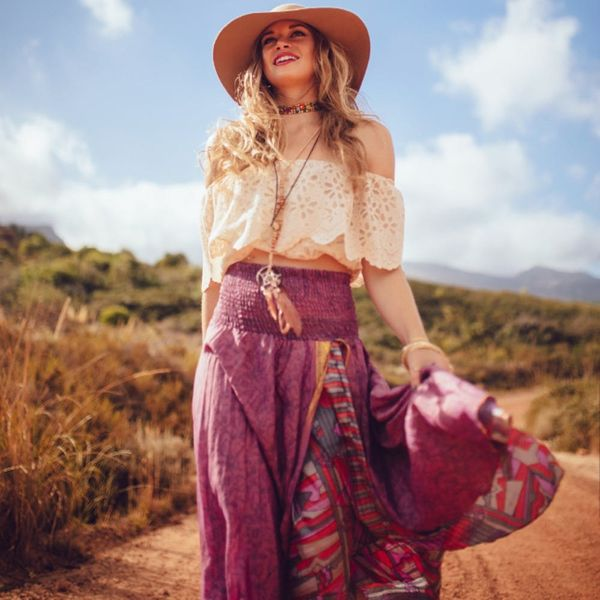 DIY Boho Skirts For Your Throwback Look