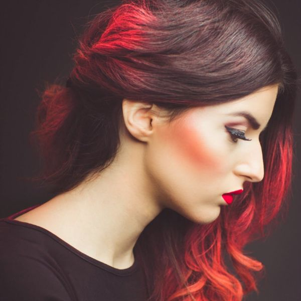 Ombre Hair — Get This Red Hot Look