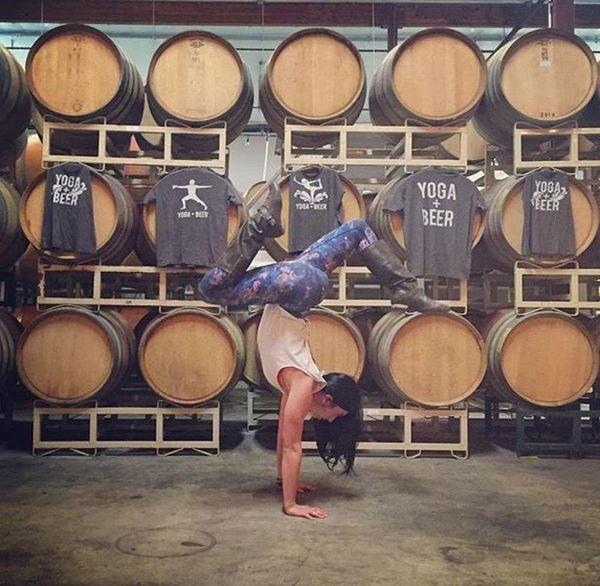 Why That Beer + Yoga Craze Actually Makes Sense