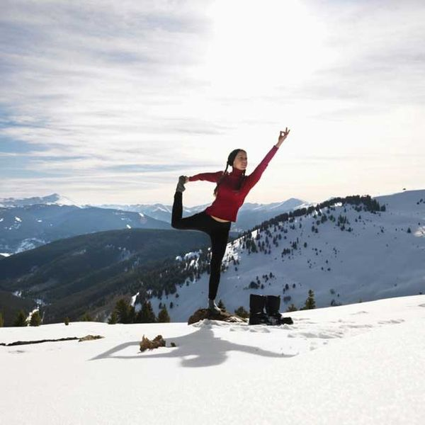 Snowga Is 2016's Chillest New Way to Exercise