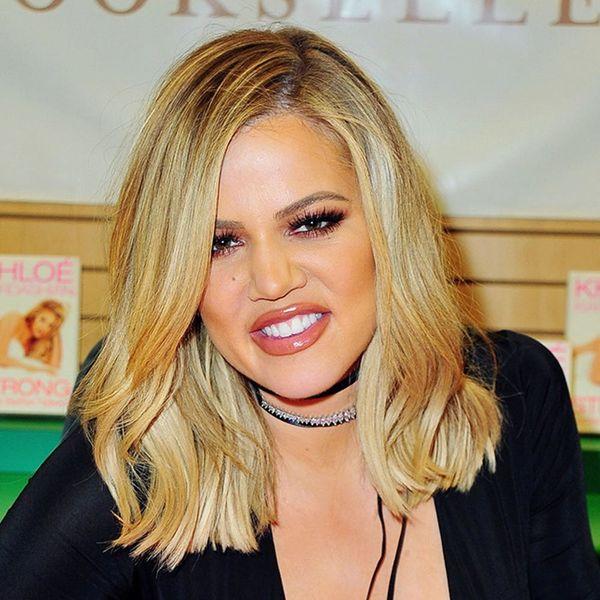 Khloe Kardashian's Trendy Hairstyle Will Make Lazy Girls Very Happy