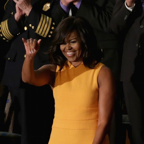 Michelle Obama Was the Real Star of the State of the Union in This Stunning Dress