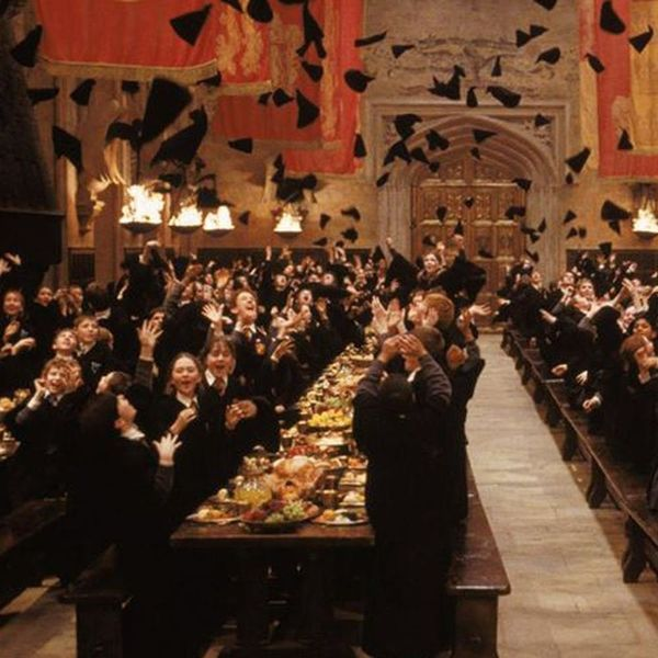 You Can Now Have Valentine's Day Dinner in the Great Hall of Hogwarts