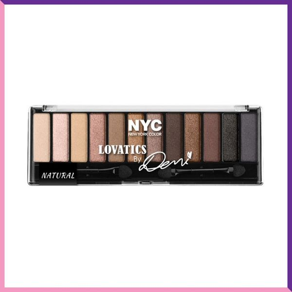 Demi Lovato's Drugstore Makeup Collaboration With NYC Is an Amazing Naked Palette Dupe
