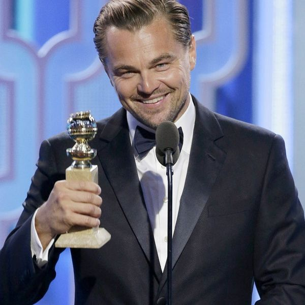 How to Deal With an Awkward Moment c/o Leonardo DiCaprio + Lady Gaga's Golden Globes Run-In