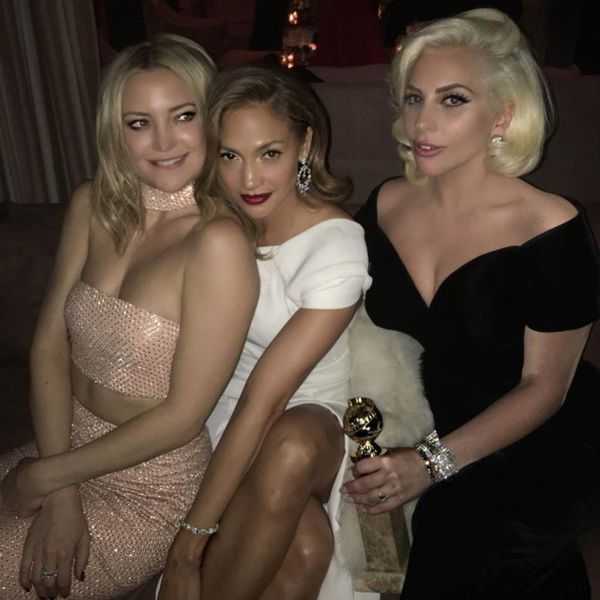 The Best Instagrams from the Golden Globes Will Give You Serious Squad Goals