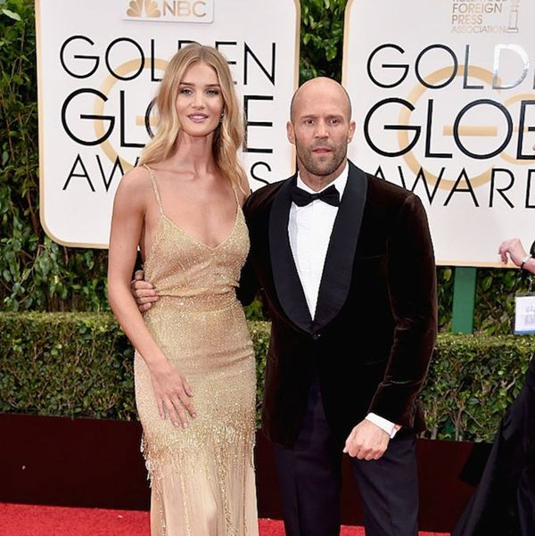 Rosie Huntington-Whitely's Engagement Ring Was the Golden Globes' Most Surprising Accessory