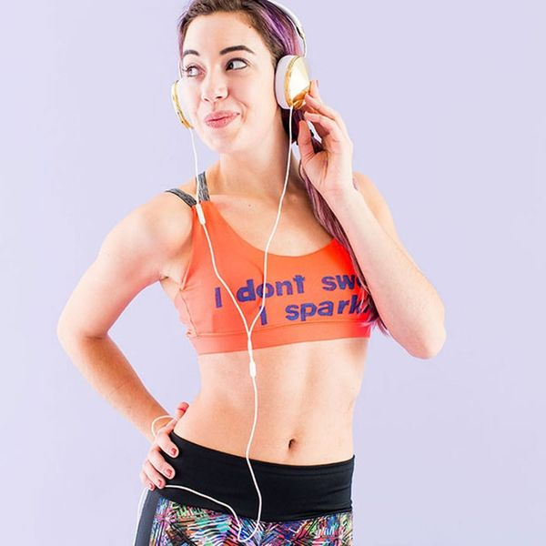 How to Update Last Year's Sports Bras With Motivational Sayings