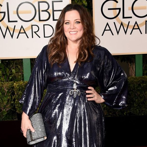 Melissa McCarthy Rocks Her Own Design to the Golden Globes