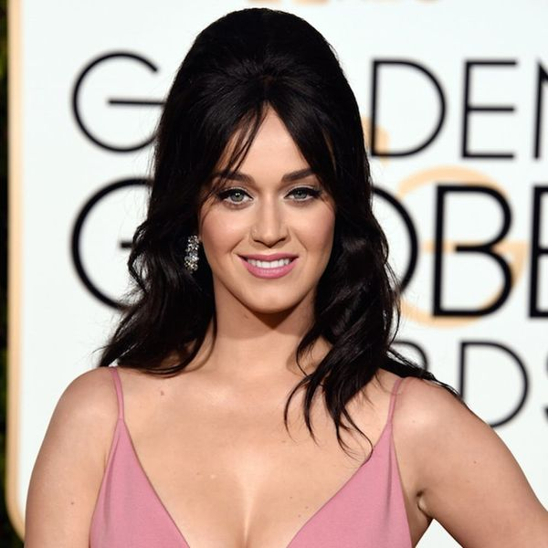 Katy Perry Brought Bump-Its Back at the Golden Globes