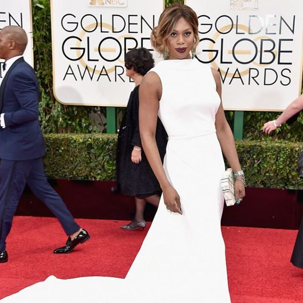 Laverne Cox and Maura Tierney Wow the Red Carpet in Elizabeth Kennedy