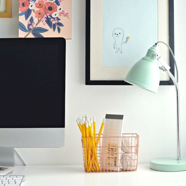 13 DIY Wire Storage Options That Actually Look Pretty