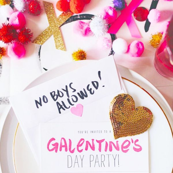 19 Red + Pink Party Ideas for Your Galentine's Day Party