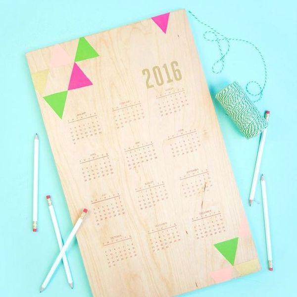 12 Ultra Chic Calendars You Can Still DIY