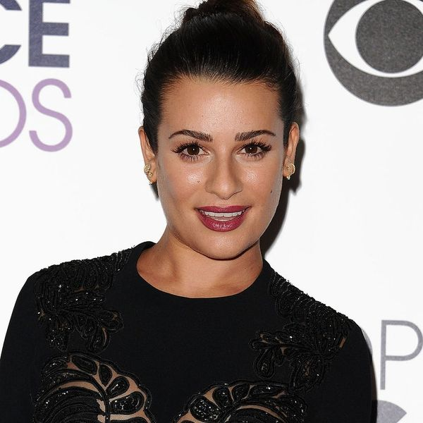 Lea Michele Wore This Surprising Drugstore Makeup on the Red Carpet Last Night