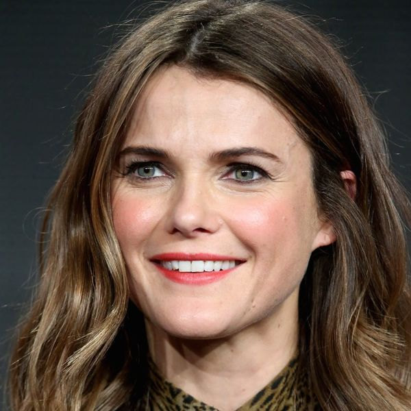 Keri Russell Just Showed Off the Most Elegant Baby Bump Style Ever
