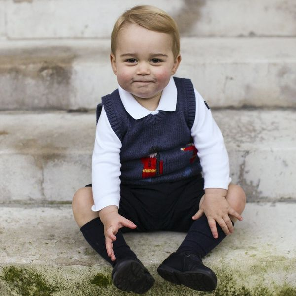 Prince George's First Day of School Outfit Is *Actually* Too Cute to Handle
