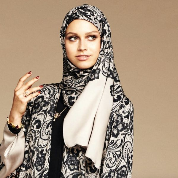 Dolce & Gabbana Just Announced a New Collection of Luxe AF Hijabs