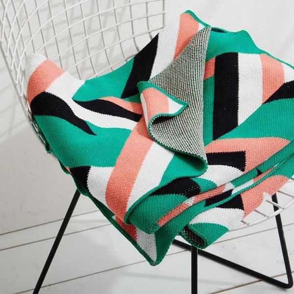10 Cozy, Colorful Throws to Update Your Decor for the New Year