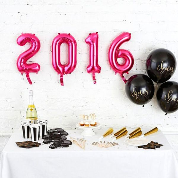 15 Balloons to Make Your New Year's Eve Party Festive AF