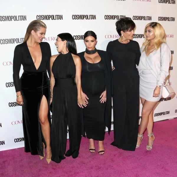 The Kardashian 2015 Christmas Card Is Missing 1 Key Person