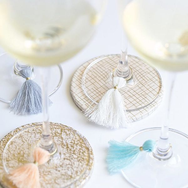 Never Lose Your Drink Again With 10 DIY Wine Glass Charms