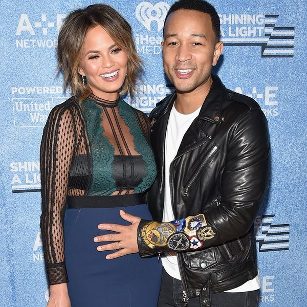 Chrissy Teigen Just Revealed the Sex of Her Baby in the Most Glamorous Way Ever