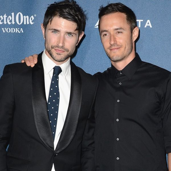 Matt Dallas and Blue Hamilton Just Announced They Adopted a Son in the Sweetest Way