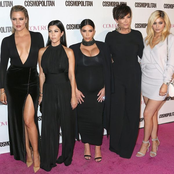The Kardashian Family's 2015 Christmas Card Might be Their Best One Yet