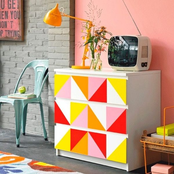 13 Geometric Paint Jobs You'll Love Right Now