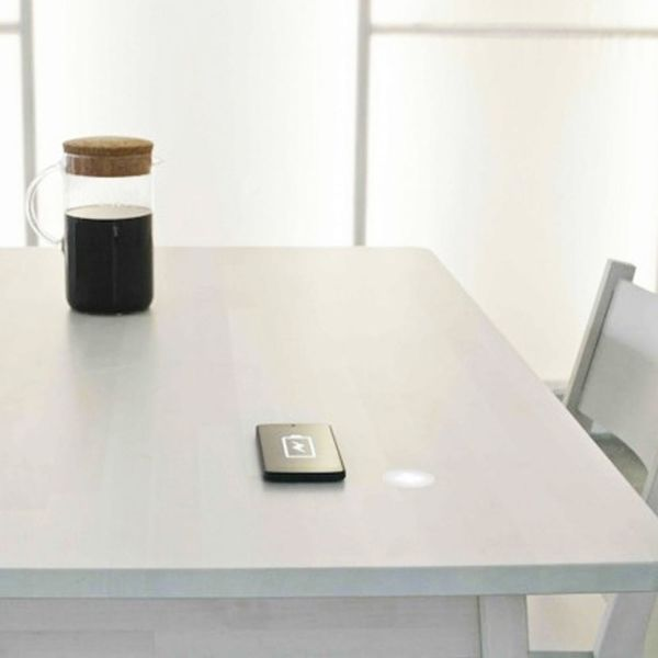 This IKEA Furniture Charges Your Phone With Your Coffee