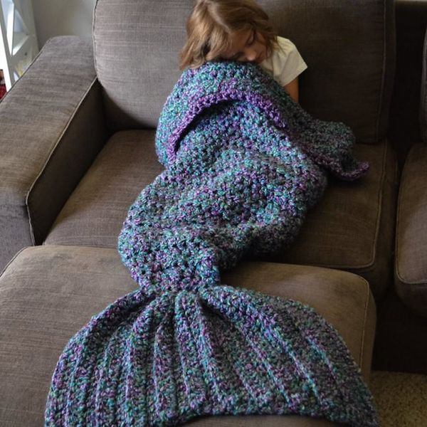 You NEED This Crocheted Mermaid Tail Blanket in Your Life