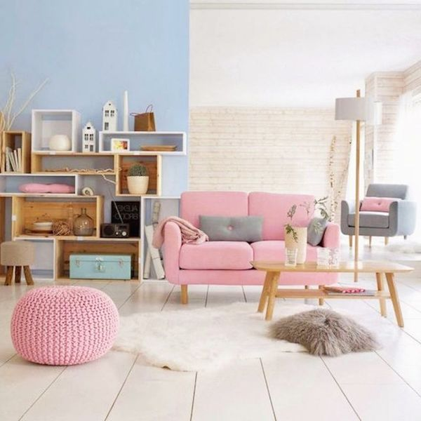 15 Ways to Use Pantone's Colors of the Year in Your Living Room