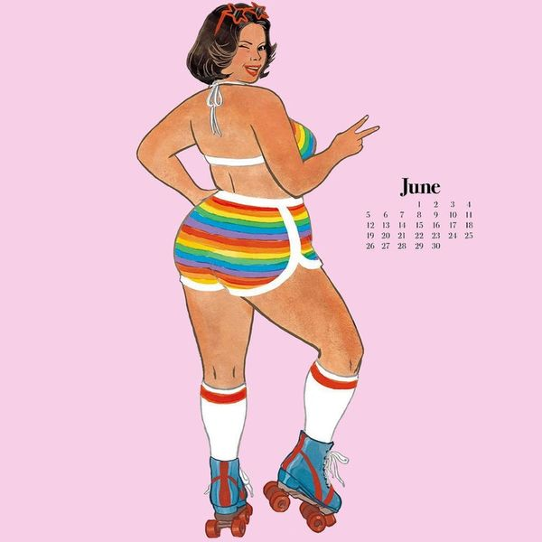 This Gorgeous Body Positive Calendar Is the Best Way to Start the New Year