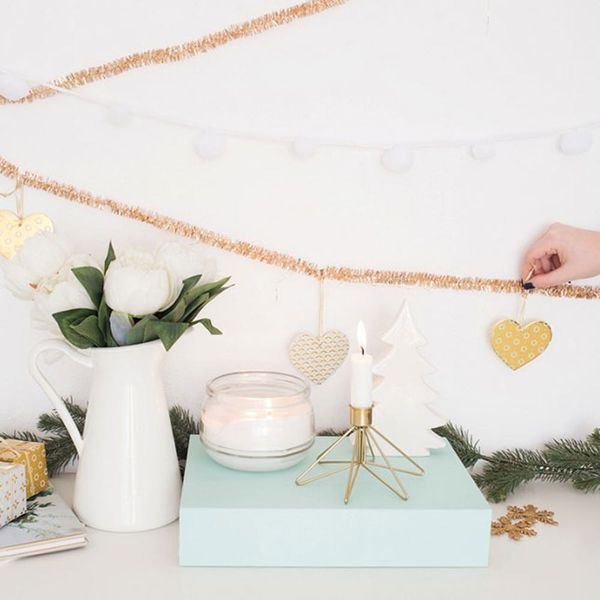 This Anthropologie-Inspired Garland Is Surprisingly Cheap and Easy to Make