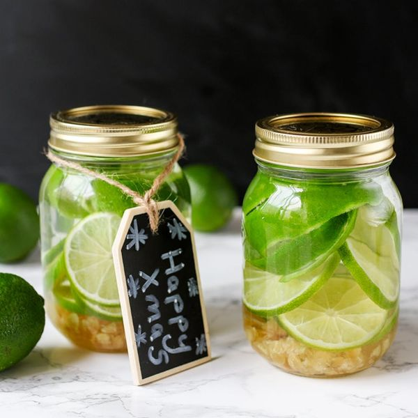 How to Make Ginger-Lime-Infused Vodka in 5 Minutes
