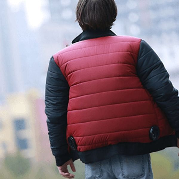 This Self-Drying Jacket Will Take You Back to the Future in Style